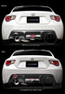 Picture of Tomei FRP Rear Bumper Cover (Left) 17+  86 Only
