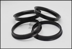 Picture of Black Plastic 65/56 Hub Centric Rings (4 pc) FRS / BRZ / 86