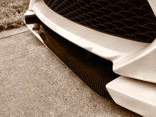 Picture of NIA Carbon Fiber/Fiberglass Front Bumper Splitter for Scion FR-S