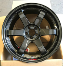 Picture of Volk TE37SL 18X9.5 +40 5x100 Diamond Black (DB)