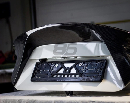"""Picture of Seidoworks Carbon """"Signature"""" Whaletail Wing FRS / BRZ / 86"""