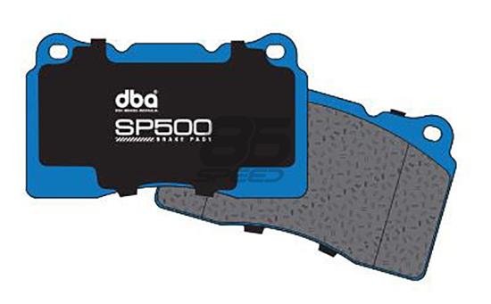 Frs Brake Pads >> Dba Sp500 Street Performance Brake Pads Front Frs Brz 86 Vented Rear Disc