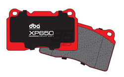 Picture of DBA - XP650 Track / Heavy load Performance Brake Pads (FRONT) FRS/BRZ/86 Vented Rear Disc