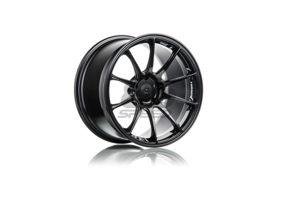 Picture of Titan 7 T-R10 18X9.5 +40 5x100 Machine Black- FRS/86/BRZ