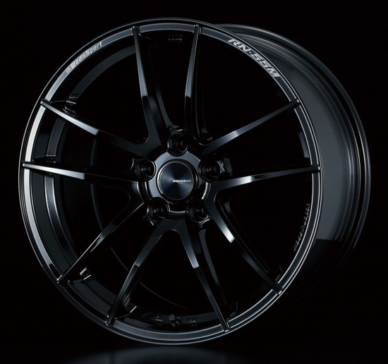 Picture of Weds RN-55M 18x7.5+45 5x100 Gloss Black