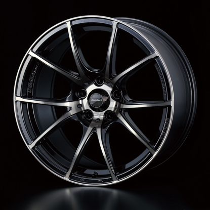 Picture of WedsSport SA10R 17x7.5+48 5x100 Zebra Black Clear
