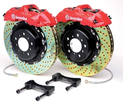 Picture of Brembo GT Systems 2015+STI FRS/86/BRZ 4 POT 345x28 Rear Brake Kit