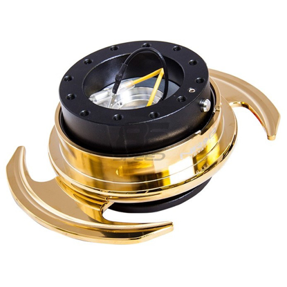 Picture of NRG Quick Release Kit Gen 3.0-Black/Gold
