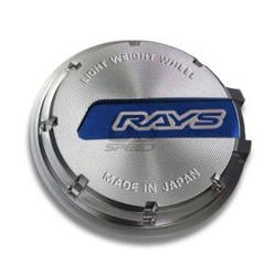 Picture of Gram Lights 57CR/57DR Chrome/Blue Logo Center Cap