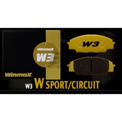 Picture of Winmax W3 Circuit Rear Brake Pads - 17+ BRZ Perf. Pkg. (Brembo)