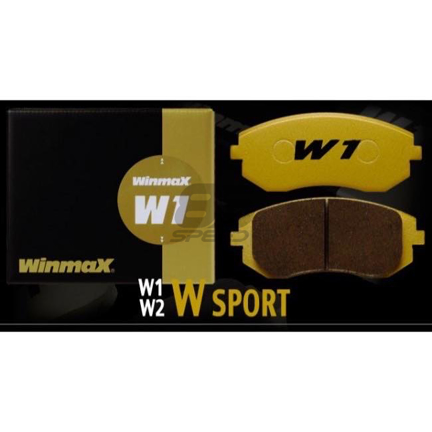 Picture of Winmax W1 Street Rear Brake Pads - 17+ BRZ Perf. Pkg. (Brembo)
