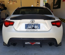 Picture of LegSport Carbon Duck Bill Spoiler- FRS/86/BRZ