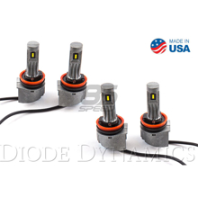 Picture of H11 SLF LED Yellow (Set of 4)