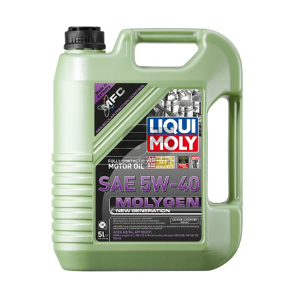 Picture of LIQUI MOLY 5L Molygen New Generation Motor Oil 5W-40