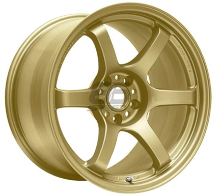 Picture of Gram Lights 57DR 18x9.5 5x100  +38 Gold