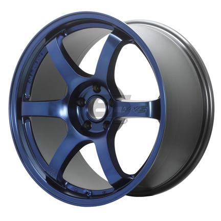 Picture of Gram Lights 57DR 18x9.5 +38 5x100 Sputter Blue Wheel