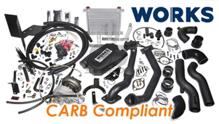 Picture of WORKS 2013-2016 BRZ / FR-S Stage 2 Turbo Kit - Calibrated Ver. CARB Compliant