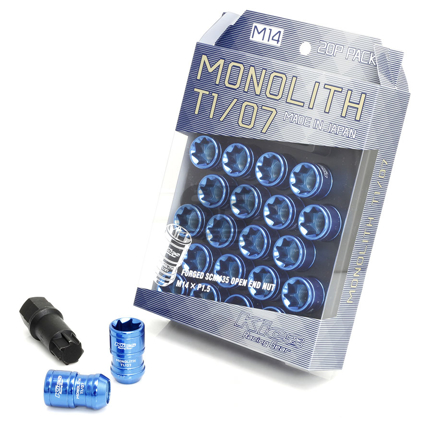 Picture of Project Kics Monolith TI/06 Lug Nuts - 12x1.25 (Blue)