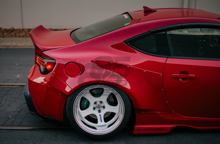 Picture of GReddy X Rocket Bunny V1 Rear Over Fenders-FRS/86/BRZ